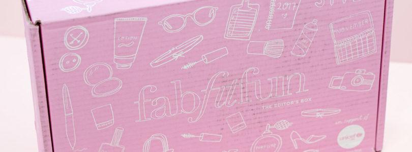 FabFitFun Post Fall 2017 Editor's Box Review + $10 Off Coupon!