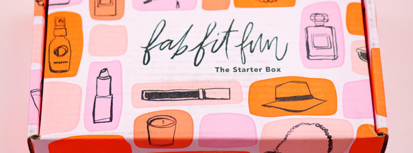 FabFitFun Starter Box 2017 Review + Coupon!