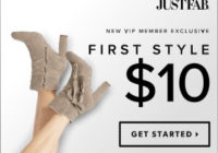 JustFab Coupon – Get Your First Style For Only $10!