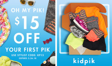 Kidpik Coupon – Save $15 Off Your First Box!