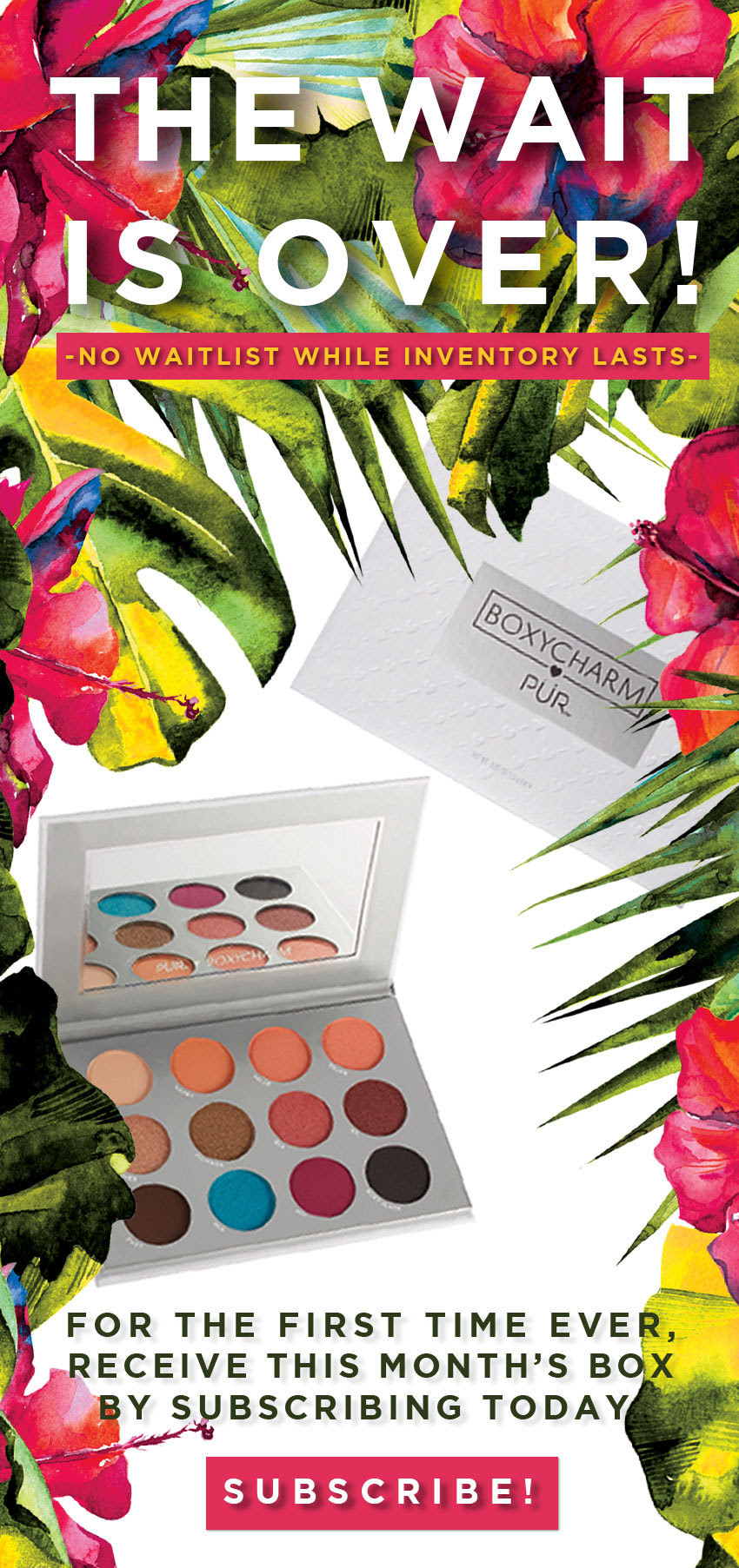 Limited Time! Boxycharm NO WAITLIST + March 2018 Spoilers!