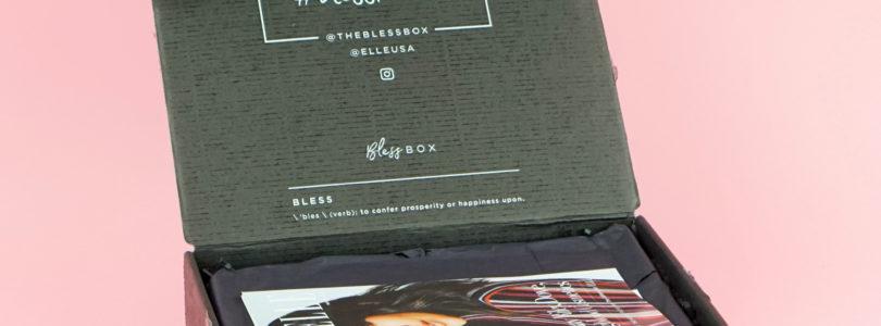 Bless Box x Elle Review – March 2018 + Coupon!