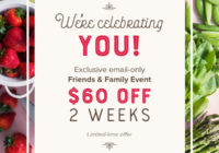 Sun Basket Coupon – Save $40 Off First Order + $20 Off Second Order!