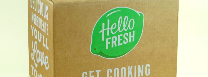 Hello Fresh Review + $40 Off Coupon – April 2018