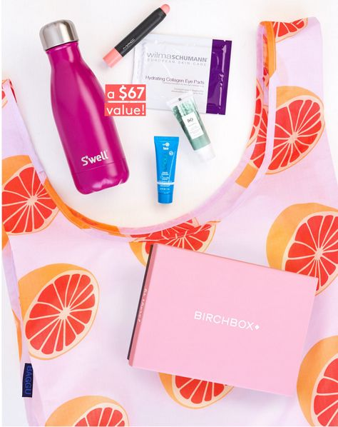 Birchbox Coupon Free 6 Pc Summer In A Bag Gift With Subscription