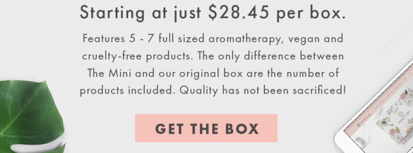 Bombay & Cedar NEW Mini Box Available Now + 15% Off Coupon!