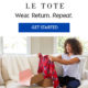 Le Tote Coupon – Save $10 Off Your First 2 Months!
