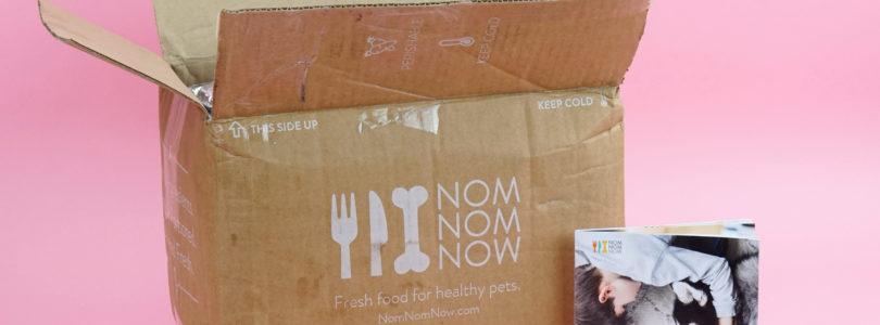 NomNomNow Cat Food Review + 50% Off First Box Coupon!