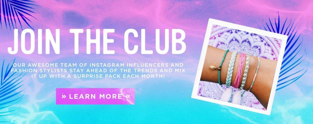 Pura Vida Monthly Bracelets Club