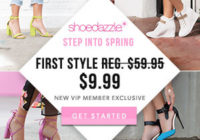 ShoeDazzle Coupon – Get Your First Style For $9.99!
