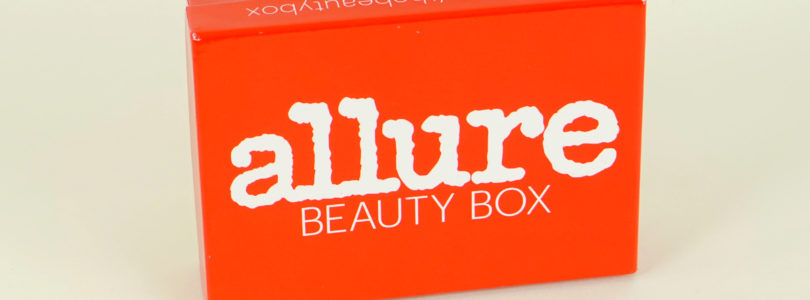 Allure Beauty Box Review + $5 OFF & Free Gift! – August 2018