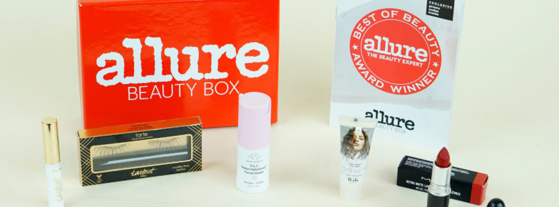 Allure Beauty Box Review + Coupon – September 2018