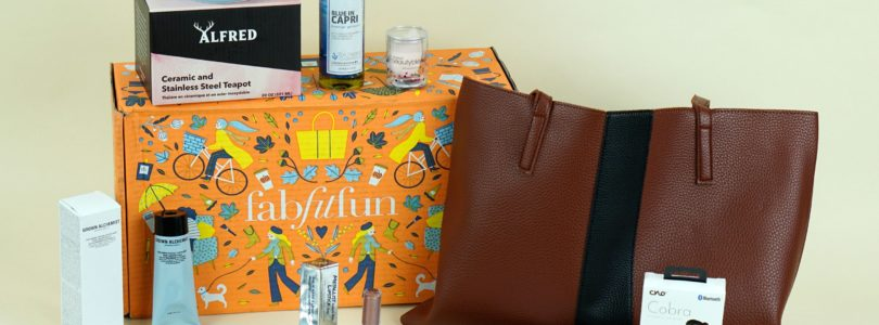 FabFitFun Fall 2018 Review + $10 Off Coupon!