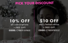 Bombay & Cedar Cyber Monday Sale 2018 – Save 10% Off Any Subscription + FREE Gift!
