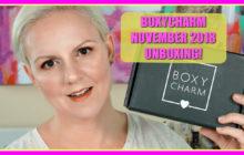 BoxyCharm November 2018 Unboxing Video!!