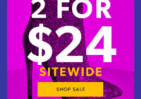 Just Fab Cyber Monday Sale 2018 – 2 For $24 Shoes!
