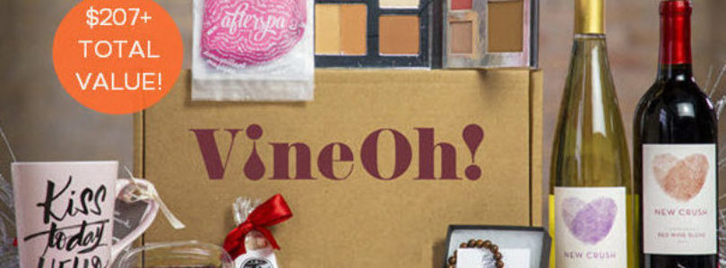 Vine Oh! Coupon – Save 20% Off Your First Box!