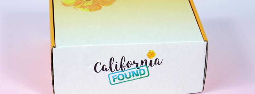 California Found Review + Coupon – November 2018
