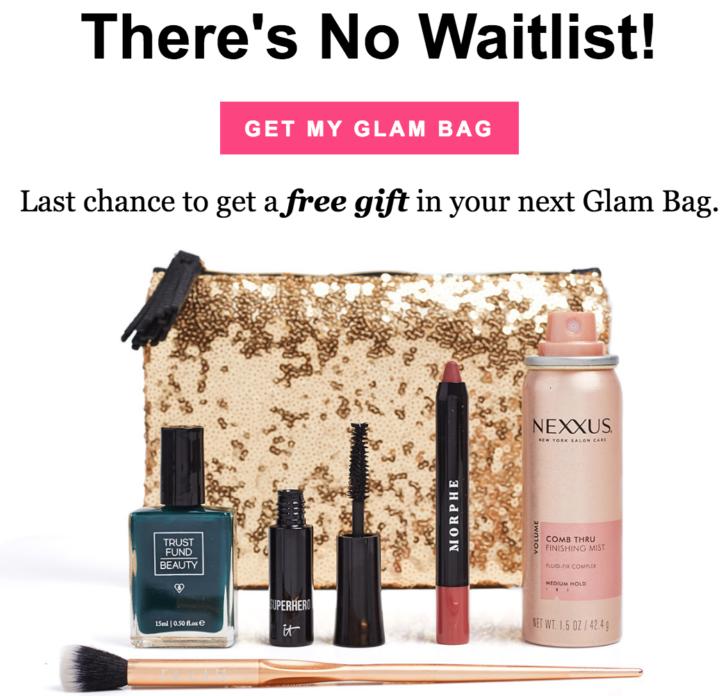 Ipsy December 2018 Glam Bag - NO WAITLIST + SPOILERS Recap!