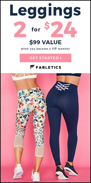 f0e126d18ed0d7 Fabletics February 2019 Valentine's Day Collection Available + 2 For ...