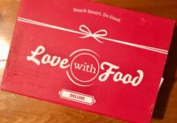 Love With Food Deluxe Box Review + Coupon – December 2018