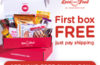 Love With Food Coupon – Get Your First Box FREE!