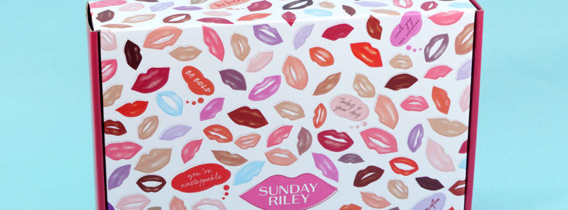 Sunday Riley Subscription Box Review + Coupon – Spring 2019 Love Edition – NSFW