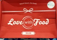Love With Food Deluxe Box Review + Coupon – February 2019