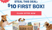 BarkBox Flash Sale – Get Your First Box For $10!