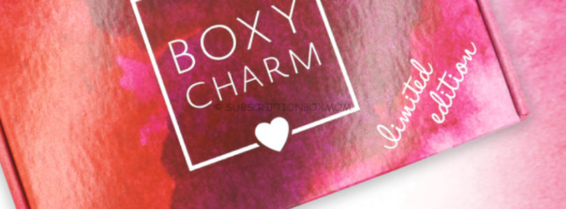 BoxyCharm Limited Edition Skincare Box 2019 Available NOW + FULL SPOILERS!