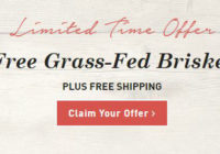 Butcher Box Coupon – FREE Grass-Fed Brisket!