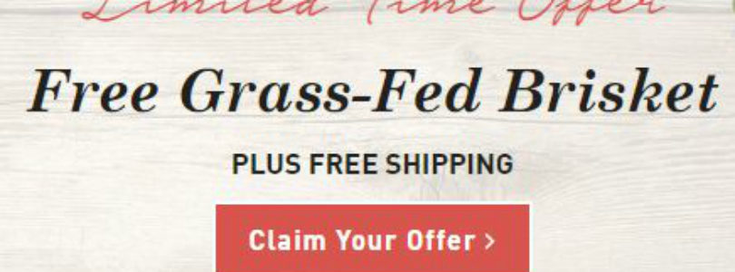 Butcher Box Coupon – FREE Grass-Fed Brisket!