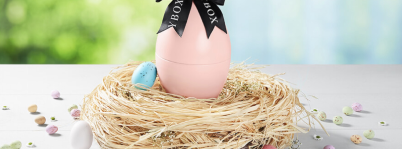 Glossybox Limited Edition Easter Egg 2019 Available Now + Coupon!