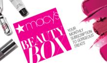 Macy's Beauty Box Spoilers