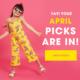 FabKids April 2019 Spoilers + Coupon!