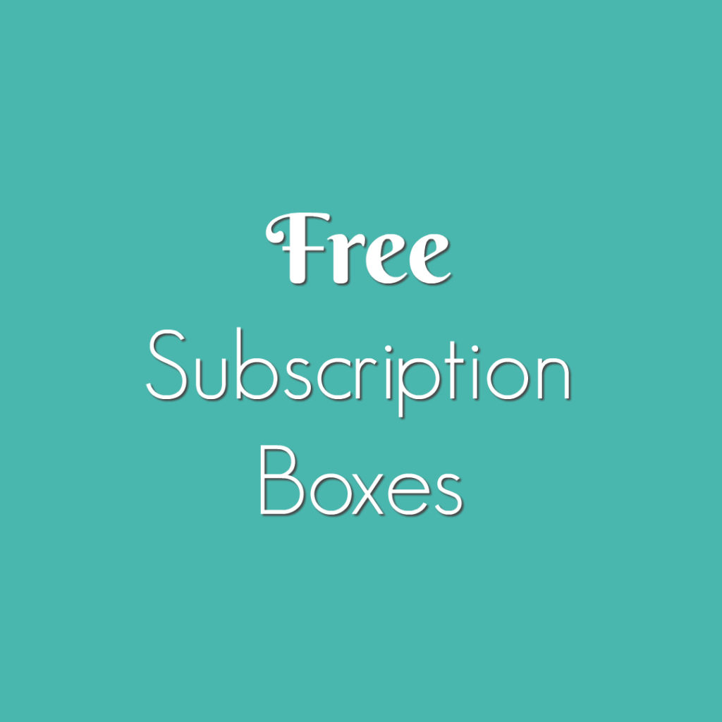 Free Subscription Boxes