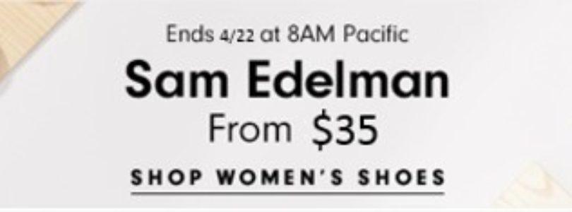 Hautelook Sale – $35 Sam Edelman Shoes + $15 Laura Mercier!
