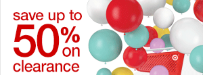 Target Sale – Save Up to 50% Off Clearance!