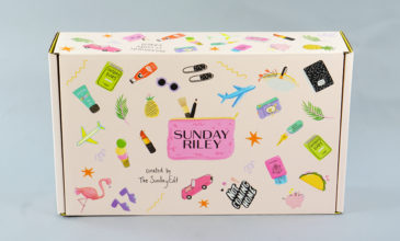 Sunday Riley Limited Edition Travel Box Review + Coupon!