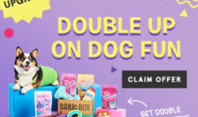 BarkBox Coupon – Double Your First Box FREE!