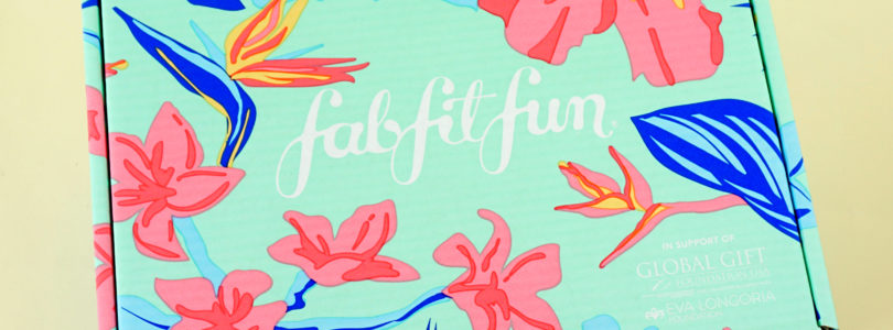 FabFitFun Summer 2019 Box Review + Coupon!