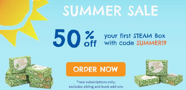 50% off Green Kid Crafts