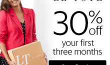 Le Tote Coupon – Get 30% Off Your First 3 Months!