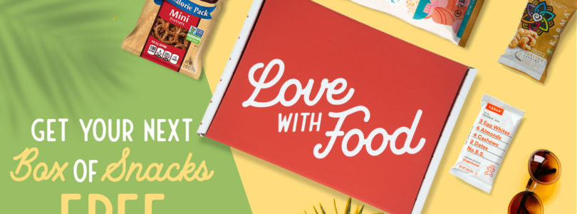 Love With Food Coupon – FREE Box + $10 Coupon!