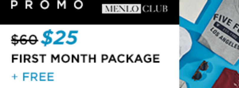Menlo Club Coupon – $25 First Box + FREE Summer Bundle! ($150 Value For $25!!)