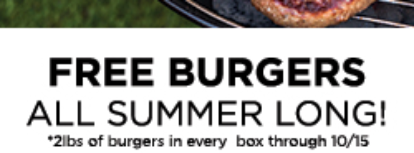 Butcher Box Coupon – Free Burgers All Summer Long!