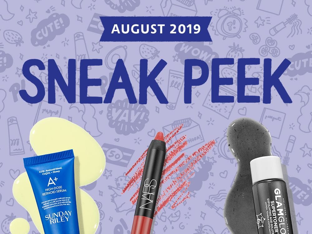 Play by Sephora August 2019 spoilers