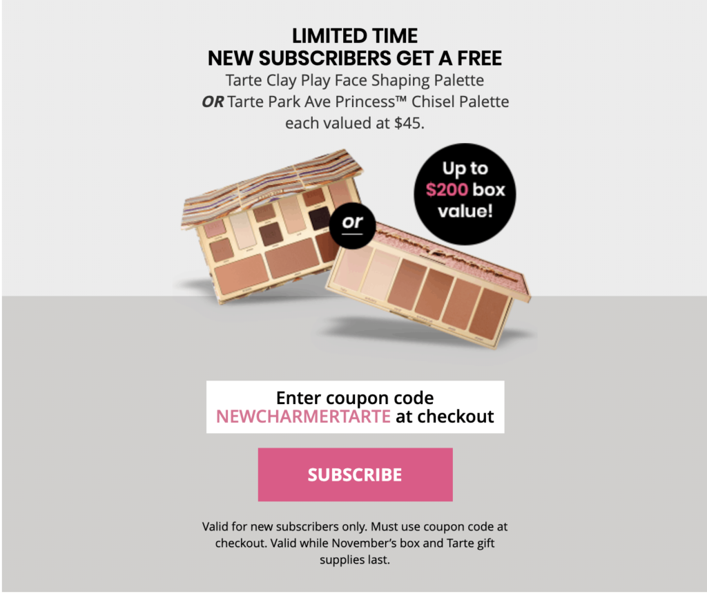 BoxyCharm Coupon