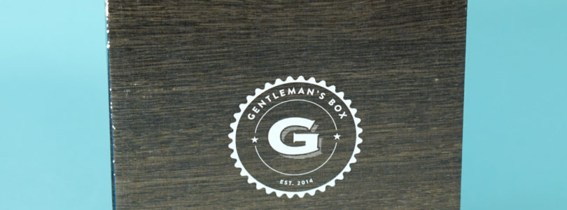 Gentleman's Box Review + Coupon – October 2019