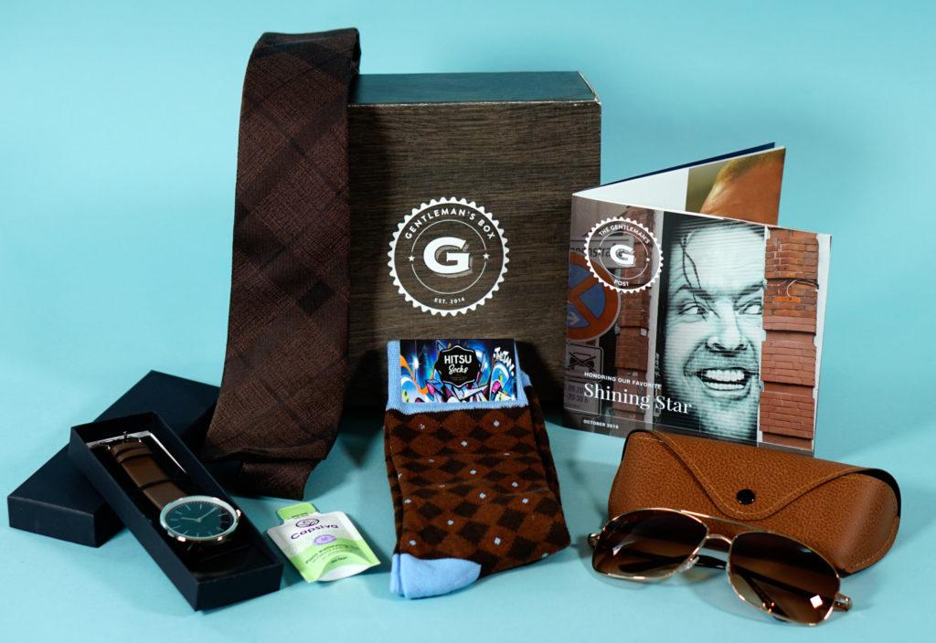 Gentleman's Box October 2019 Review